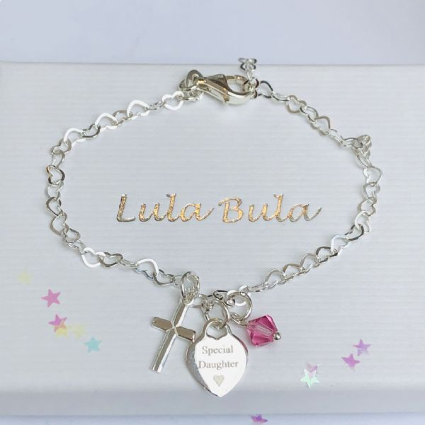 Holy Communion gift for a special girl - FREE ENGRAVING